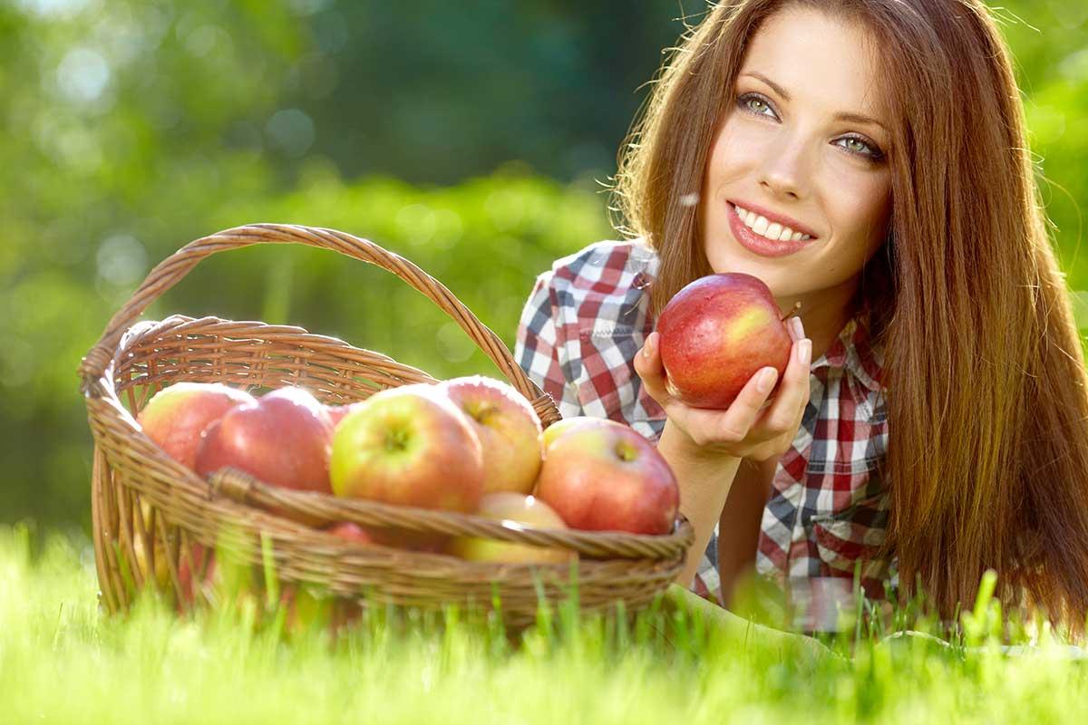 La mela, soluzione anticaduta